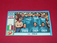 N°150 ITALIA 1948 PANINI OLYMPIA 1896 - 1972 JEUX OLYMPIQUES OLYMPIC GAMES