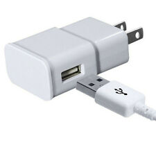 Samsung Galaxy S2 S3 S4 Micro USB Data Cable + Home Wall Charger - high Quality