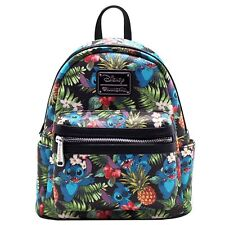 "NEW Loungefly X Disney ""STITCH PINEAPPLE"" Mini Faux Leather Backpack - SALE"