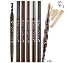 New Etude House Drawing Eye Brow #01 Black Brown, Eye Makeup EyeBrow Auto Pencil