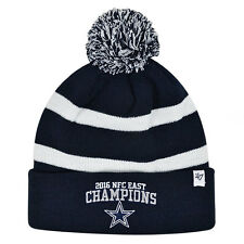 Dallas Cowboys 47Brand Official 2016 NFC EAST CHAMPIONS Knit Pom Hat