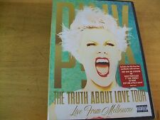 PINK TRUTH ABOUT LOVE FROM MELBOURNE  DVD