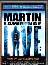 MARTIN LAWRENCE LIVE: RUNTELDAT -TRUTH IN THE RAW - DVD - LIKE NEW - FREE POST