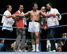 Cassius Clay MUHAMMAD ALI Glossy 8x10 Photo Boxing Print In the Corner Poster