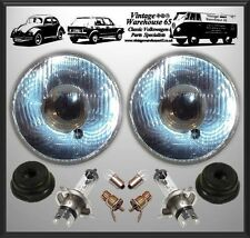 "Ford Transit Mk1 Classic Flat 7"" Sealed Beam Halogen Conversion Headlight Kit"
