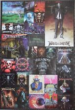 "MEGADETH ""COLLAGE OF VIC RATTLEHEAD"" POSTER FROM ASIA - Heavy Metal Music"