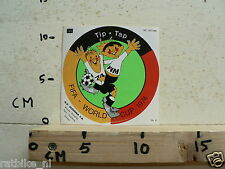 STICKER,DECAL TIP TAP FIFA WORLD CUP 1974 WM 74 GERMANY ? VOETBAL SOCCER