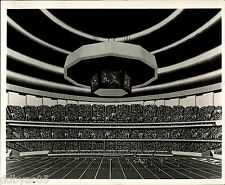 1975 Vintage Photo artist sketch drawing Louisiana Superdome Mercedes-Benz