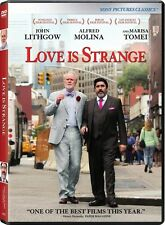 Love Is Strange (2015, DVD NIEUW)
