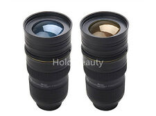 24-70mm f/2.8 1:1 Stainless steel Mug Camera Lens Cup Insulation for Nikon Funs