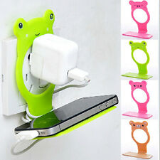 Animal Mobile Cell Phone Holders Folding Wall Charging Station Stand Delicate