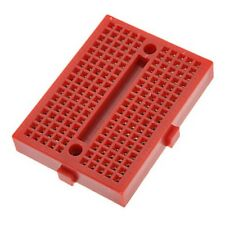 Platine d'essais 170 contacts - Breadboard PCB Arduino - Rouge