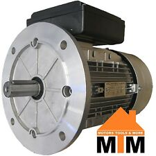 Single Phase Electric Motor 240v 3 kW 4 HP 1400rpm 4 Pole IMB5 B5 Flange