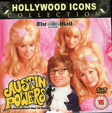 AUSTIN POWERS INTERNATIONAL MAN OF MYSTERY - Mike Myers, Elizabeth Hurley - DVD