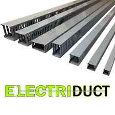 """2""""x3"""" Open Slot Wire Duct - 6 Sticks - Total Feet: 39FT - Gray - Electriduct"""