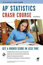 AP Statistics Crash Course Book + Online Advanced Placement AP) Crash Course)