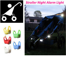 Baby Prams Stroller Outdoor Night Waterproof Remind Lights LED Caution Lamp