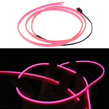 1x 3M Flexible Neon Light Glow EL Wire Rope Tube Car Party Cable Strip LED