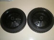 Set of 2 Drive Wheels fits Craftsman Husqvarna Poulan 180775 700953 532180775