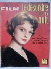 NOUS DEUX FILM N° 44 LE DÉSORDRE ET LA NUIT Jean GABIN Danielle DARRIEUX  HANIN