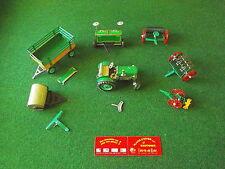 Miniature en tôle - Tracteur Kovap + outils agraires