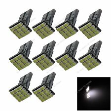 10X Car 12 LED 1206 SMD PCB T10 W5W Wedge Side Light Bulb Lamp A043