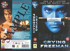 Crying Freeman, Mark Dacascos Video Promo Sample Sleeve/Cover #10098