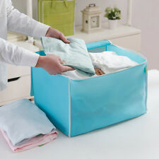 Foldable Room Bag Storage Box Holder Blanket Zipper Organizer For Clothing Quilt