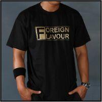 FOREIGN FLAVOUR Wedding65 Label Tour Shirt schwarz in Größe XL - NEU !!!