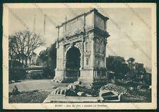 Roma Città Arco di Tito FG cartolina VK2393