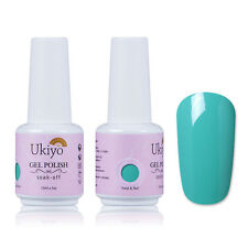 Ukiyo 15ml Soak Off Gel Nail Polish UV Varnish Top Base Coat Manicure Nail Art