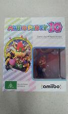 Mario Party 10 + Super Mario Amiibo Bundle - Nintendo Wii U Brand New