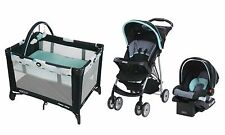New Graco Baby Stroller Travel System, Car Seat, Portable Care Center Playard