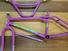 Lavender dyno compe survivor old BMX vintage freestyle bike detour gt performer