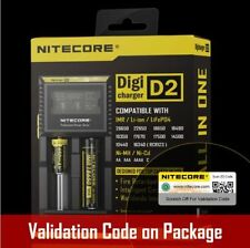 New NITECORE D2 Intelligent Battery Charger for16430 22650 18650 17670