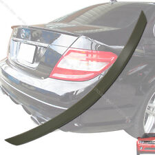 2008-2013 Mercedes Benz W204 C class Sedan A Type Trunk Boot Spoiler