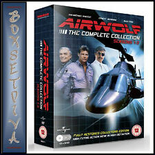 AIRWOLF - COMPLETE COLLECTION - SEASONS 1 2 & 3  ***BRAND NEW DVD BOXSET ****