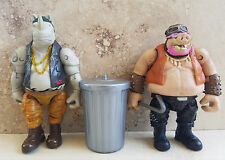 "GARBAGE TRASH CAN for WWE Walking Dead TMNT 5-6"",custom,fodder,diorama accessory"