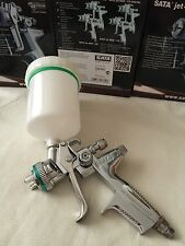 1 set New in box Silver HVLP WITH CUP Paint Spray Gun Gravity 1.3mm