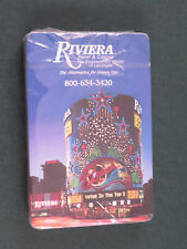 Souvenir Playing Cards - Riviera Hotel & Casino Las Vegas - New/Sealed