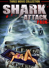 Shark Attack Pack (DVD, 2014) 3 Classic Movies