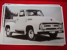 1953 FORD F100 PICKUP  11 X 17  PHOTO PICTURE