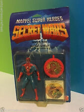 1984 MATTEL MARVEL SUPER HEROES SECRET WARS ACTION FIGURE MOC SPIDER-MAN SHIELD