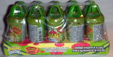Lucas Muecas Pepino Pickle Flavored Lollipop W/Chili Powder Mexican Candy 10 Pc