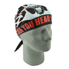 Can You Hear Me Now Flydanna Doo Rag Headwrap Skull Cap Du Do Dew Durag Biker