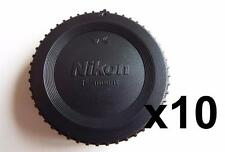 10X NIKON FIT BODY CAP COVER FOR ALL NIKON FILM AND D SERIES DIGITAL CAMERAS