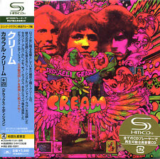 CREAM Disraeli Gears Japan Mini LP SHM-2CD UICY-93694-5 Eric Clapton Blind Faith