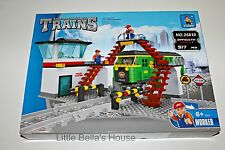 Ausini TRAINS Set #25810 Building Block Toy 517pcs city station (lego compatible