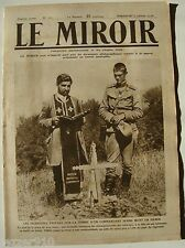 LE MIROIR n°110 ¤ 02/01/1916 ¤ AVEC LA LETTRE AUX FRANCAIS n°1 EMILE DURKHEIM
