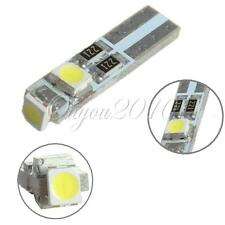 1x T5 3 LED 3528 SMD Pure White Dashboard Gauge Light Car Turn Signal Bulbs 12V